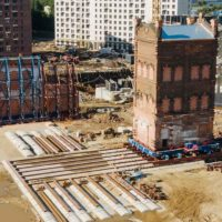 В Москве впервые за 40 лет передвинули историческое здание