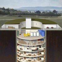 Survival Condo – роскошный подземный 15-этажный жилой дом в США