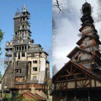 Две башни: история двух самостроев