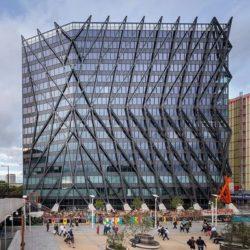 Brunel Building с внешним каркасом в Лондоне