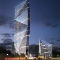 Новый центр международной торговли в Москве