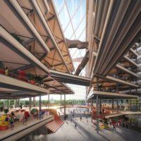 Проект нового офисного центра Яндекс