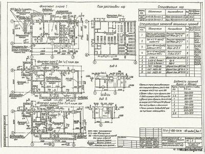 Типовой проект A-II-600-338.86 Склад материалов и оборудования отдельно стоящий