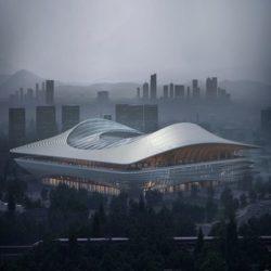 Zaha Hadid Architects проектирует стадион с озелененными общественными террасами