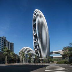 Lè Architecture: офисные здания в форме речной гальки