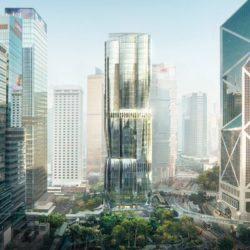 Небоскреб в форме бутона Баухинии от Zaha Hadid Architects