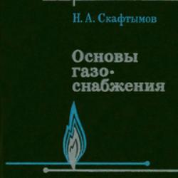 Основы газоснабжения. Скафтымов Н.А.