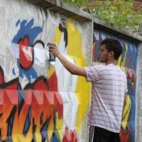 История бетонного ограждения «с ромбиками»