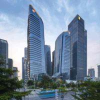 Комплекс из шести небоскребов, соединенных между собой, построен в Шэньчжене