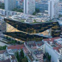 Прозрачный офис Axel Springer SE в Берлине