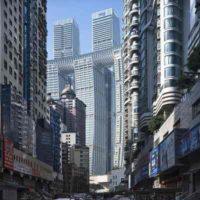 Впечатляющие фото Raffles City в Чунцине