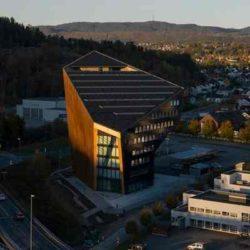 Новый «пассивный» офис «Powerhouse Telemark» возведен по проекту Snøhetta в Норвегии