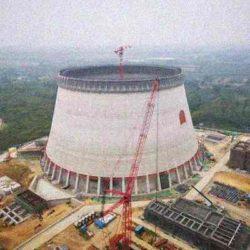 Cамая высокая в мире башенная градирня ТЭЦ Pingshan II