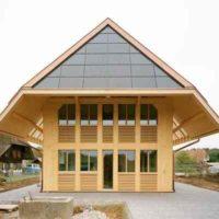Энергоэффективный соломенный дом в Швейцарии