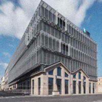 «Five Building» — надстройка над историческим трамвайным депо в Праге