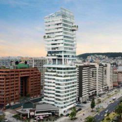 Unique – жилая башня в Эквадоре с «разрывом» посередине