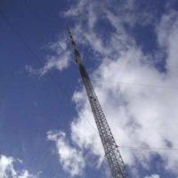 История самой высокой телерадиомачты в мире
