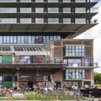 Реконструкция заброшенного склада с надстройкой в Нидерландах