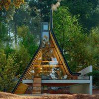 Стеклянный дом в Иране