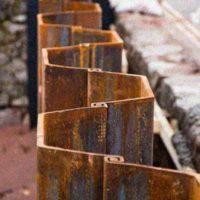 Устройство креплений стен траншей и котлованов. Подборка технологических карт