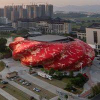 Здание-скульптура — новый Большой театр Гуанчжоу