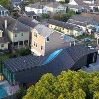J-House — закрученный жилой дом по проекту AEDS