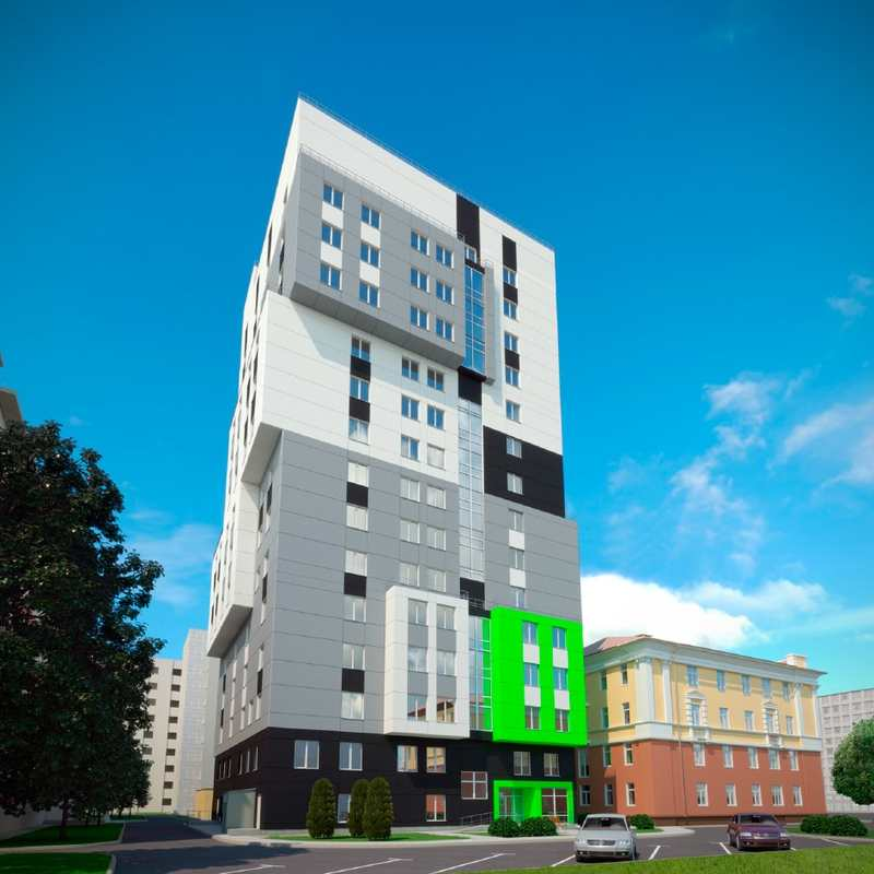 Общежитие на 300 мест. Экономически эффективная проектная документация повторного использования