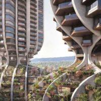 Проект «башен-деревьев» в Ванкувере от Heatherwick Studio