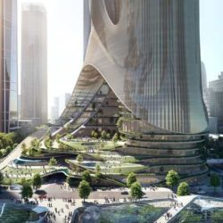 «Tower-C» — новый проект Zaha Hadid Architects в Шеньчжене (Китай)