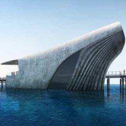 В Австралии строят подводную обсерваторию в форме кита