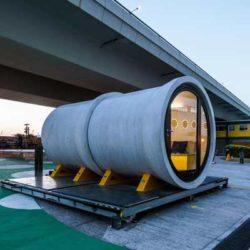 Opod Tube House — дома-модули из железобетонных труб