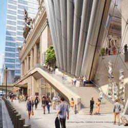 SOM проектирует новый 500-метровый небоскреб с изогнутыми колоннами