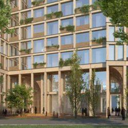 В Берлине строят вертикальный район из деревянных конструкций