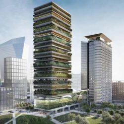 Via Pirelli 39 — новый проект «зеленых» небоскребов в Италии от Stefano Boeri Architetti