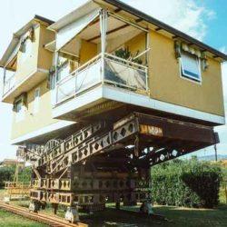 История «летающего дома» Аннунцио Лагомарсини