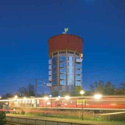 Проект реконструкции водонапорной башни под студенческое общежитие в Дании