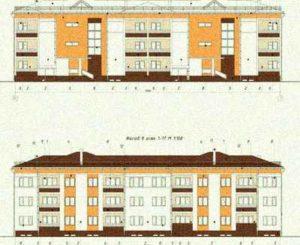 Проектная документация повторного применения «Трехэтажный 24-квартирный жилой дом»