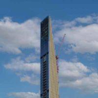 Строительство «самого тонкого» небоскреба в мире близится к завершению