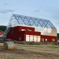 Uppgrenna Nature House — дом-теплица в Швеции