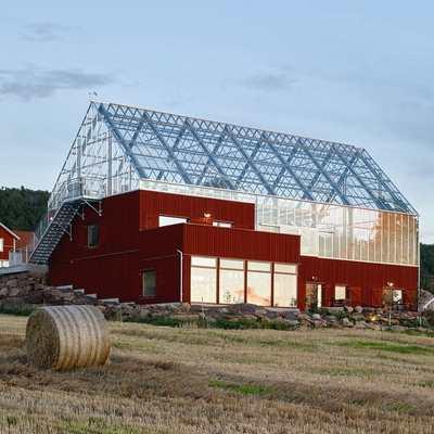 Uppgrenna Nature House - дом-теплица в Швеции