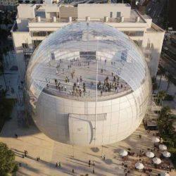 В Лос Анджелесе завершается строительство музея кинематографической академии по проекту Ренцо Пиано