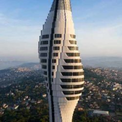Завершение строительства радиобашни в Стамбуле