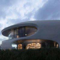 «Библиотека червоточин» — аморфное здание в Китае