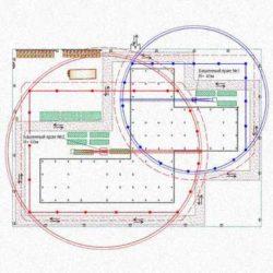 Особенности разработки ППР при совместной работе кранов