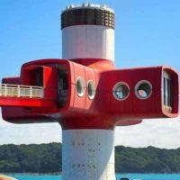 Подводная наблюдательная башня Ашидзури в Японии