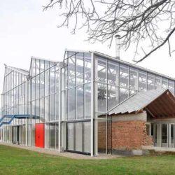 Реконструкция фруктовой фермы в Бельгии