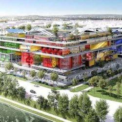 В Париже планируют возвести экспериментальный жилой район Jeune Ville