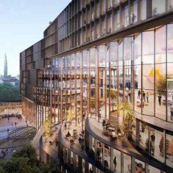 В Санкт-Петербурге планируется возвести необычное офисное здание с зигзагообразным атриумом