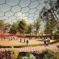 Проект парка-теплицы в Мурманске