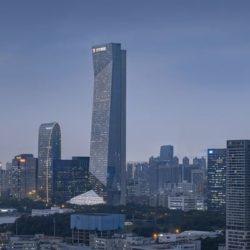 Hanking Center — небоскреб с выделенным ядром
